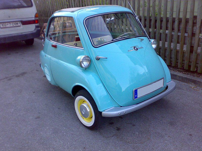 Die Isetta richtete sich speziell an die Damenwelt / wikimedia.com