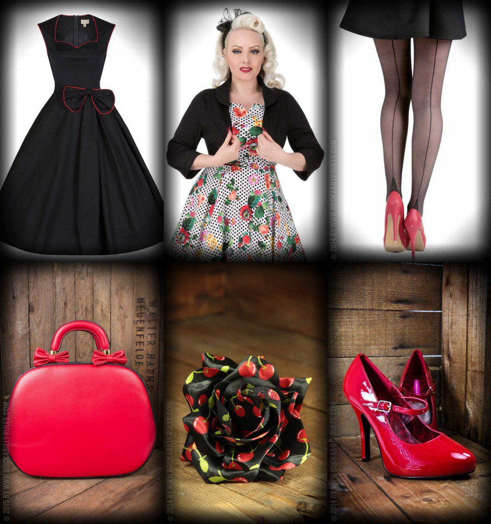 festliche 50er jahre party outfits rockabilly rules magazin. Black Bedroom Furniture Sets. Home Design Ideas