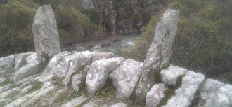 Rock'n'Roll Brücke in Epireus, Griechenland