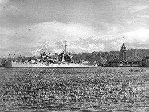 Honolulu Harbor 1939
