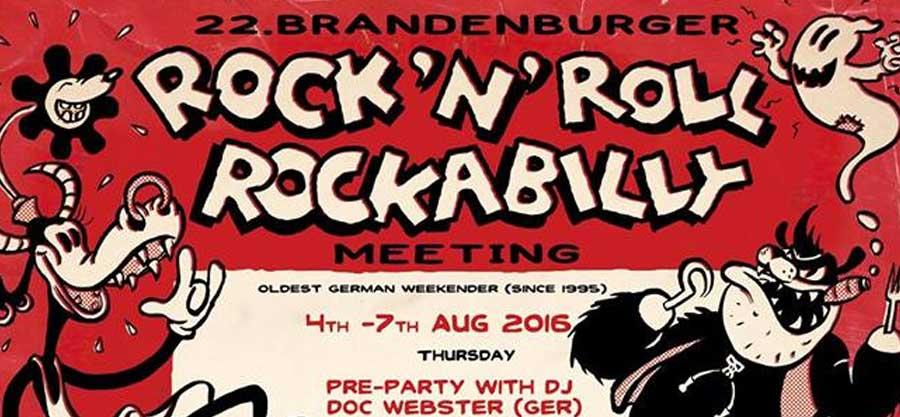 22. Brandenburger Rock'n'Roll & Rockabilly Meeting 2016 Titelbild