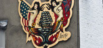 """Dublin Streets - Sailor Jerry"" by William Murph"