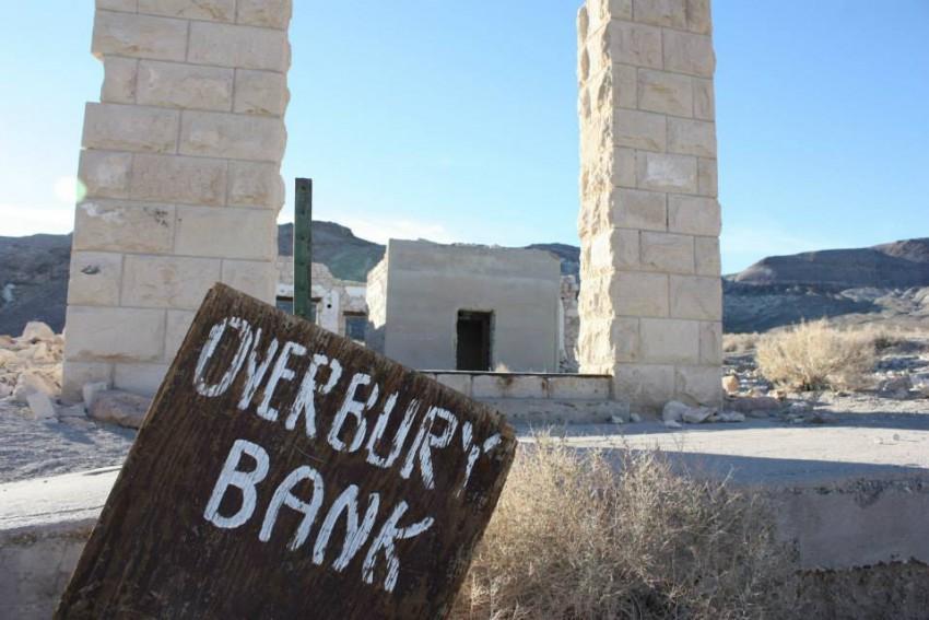 Overbury Bank in Rhyolite