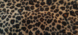 Rockabilly Rules Fake Fur Leoprint