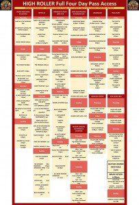 Viva Las Vegas #19 2016 timetable