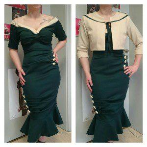 Kleid für den Pin-up Contest