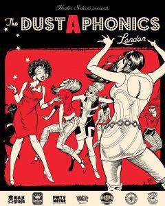 Dustaphonics-Anzeige