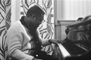 Fats Domino am Klavier
