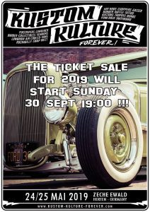 Kustom Kulture Forever 2019 Tickets