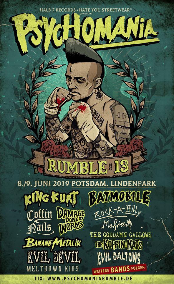 Psychomania Rumble No. 13