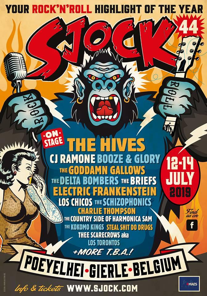 SJOCK Festival 44 Line-up
