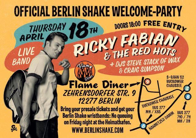 Berlin Shake Pre-Party