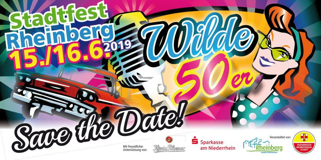 Wilde 50ziger - Stadtfest Rheinberg