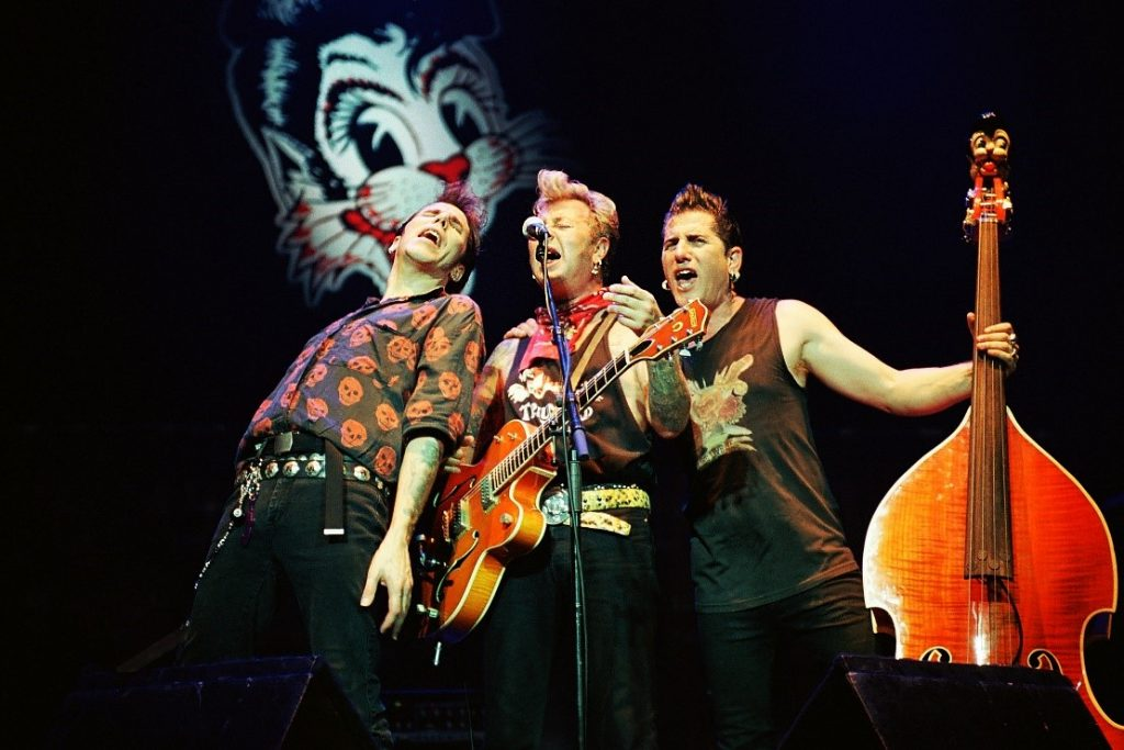 Stray Cats on stage