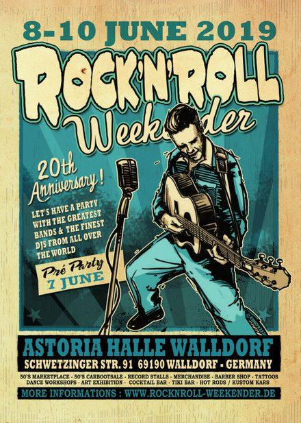 Walldorf Rock'n'Roll Weekender Flyer