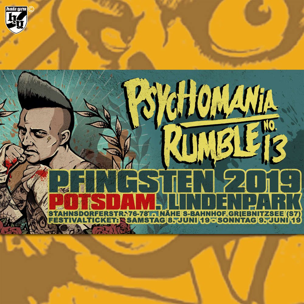 Psychomania Rumble No.13