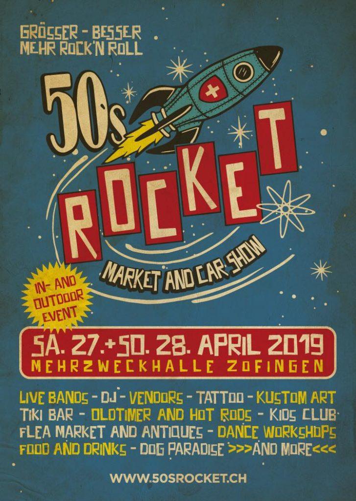 50s Rocket Flyer 2019