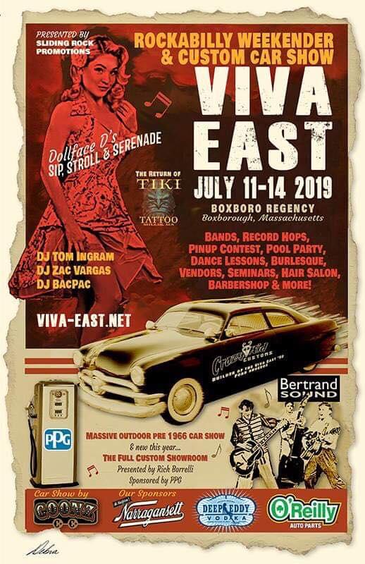 Viva East 2019 Flyer