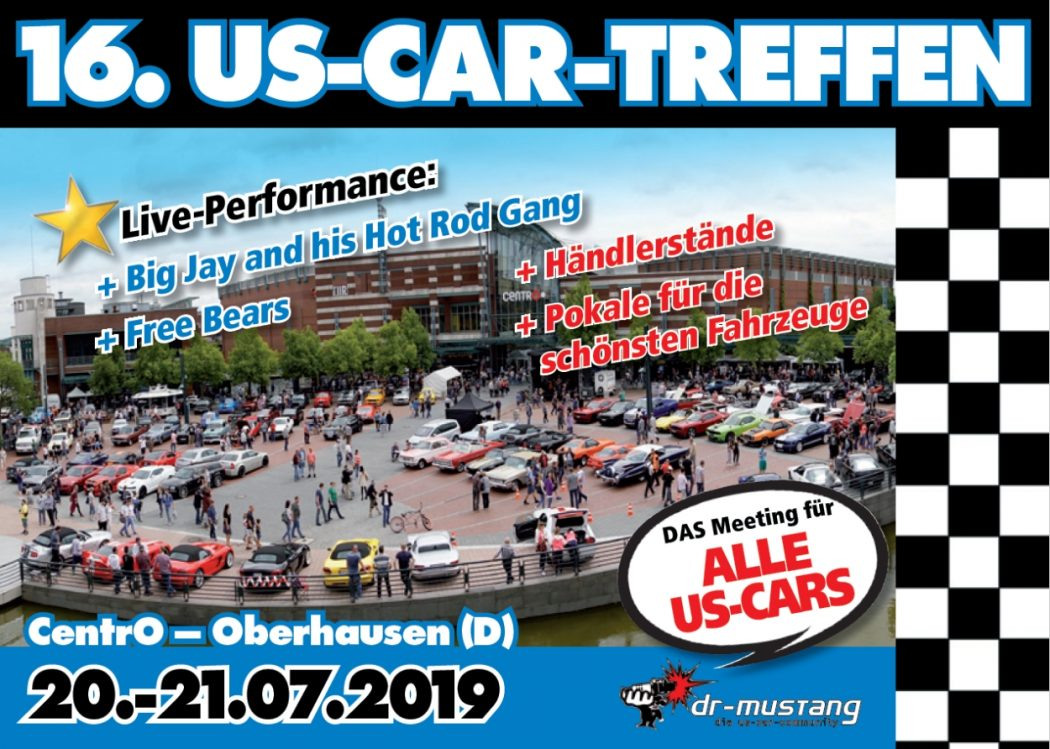US-Car-Treffen am Centro
