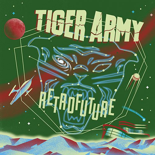 Albumcover Tiger Army Retrofuture