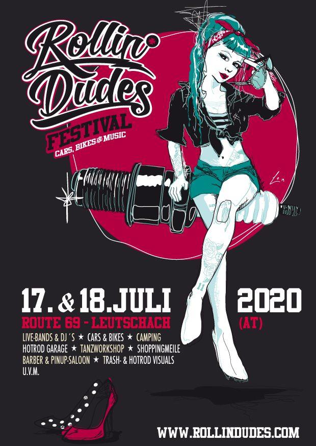 Rollin' Dudes Festival 2020 Flyer