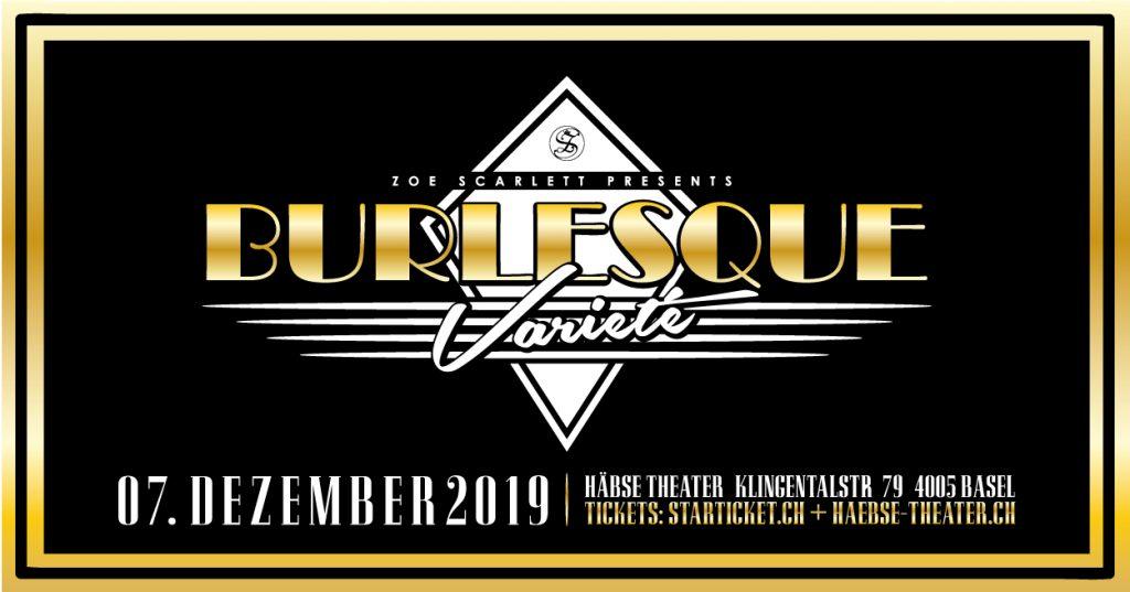 Flyer Burlesque Varieté