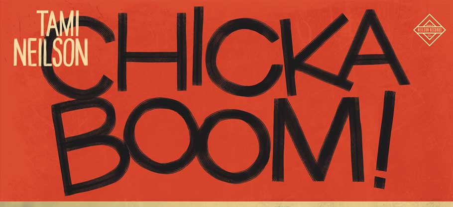 Tami Neilson, Chickaboom, Albumcover