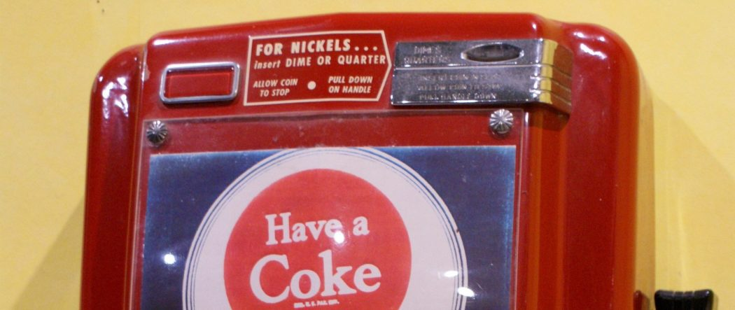Coin Changer aus den 50s