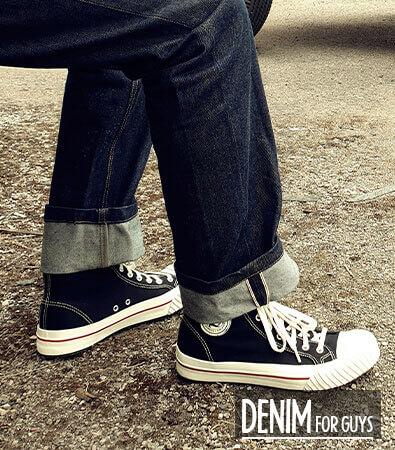Rockabilly Jeans Männer