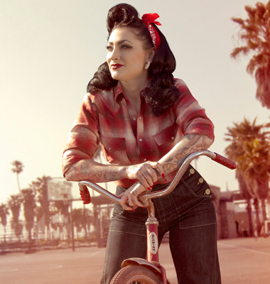 Rockabilly Ladies Denim