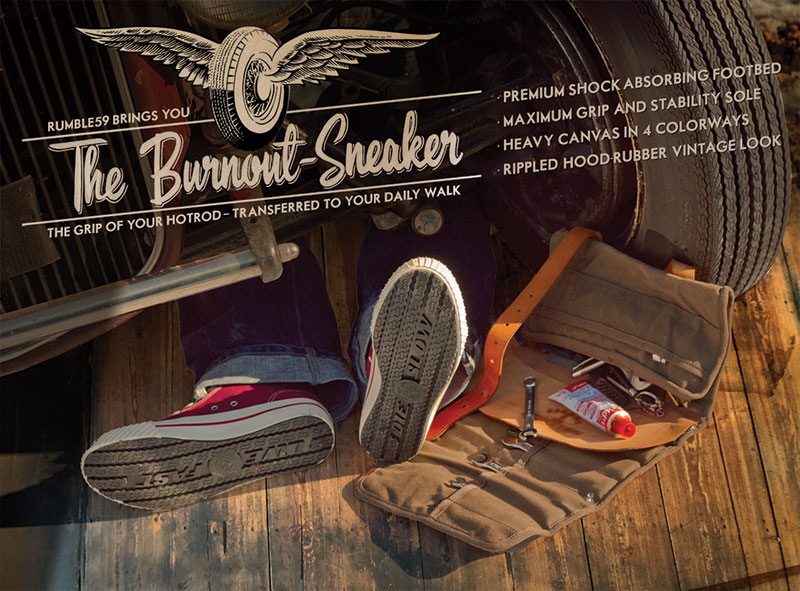 Burnout Sneaker | Rumble59