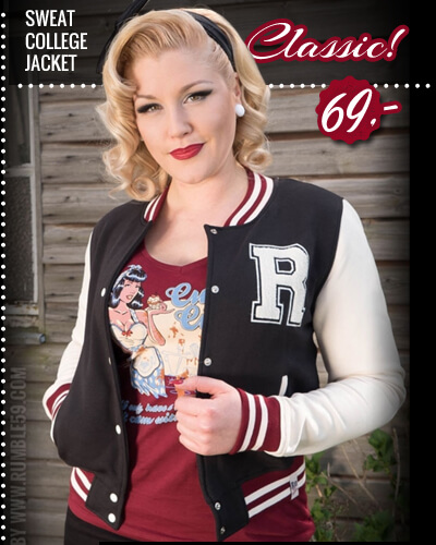 Sweat College Jacke