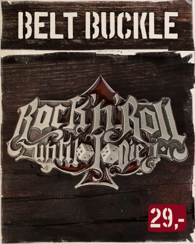 Belt Buckle - RocknRoll until I die