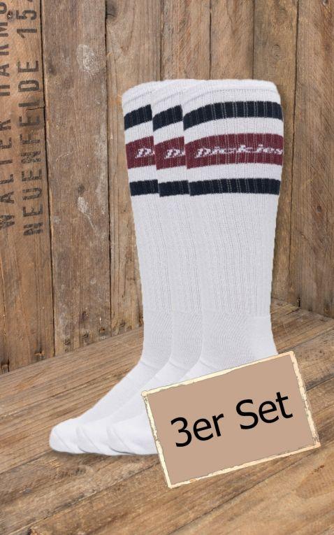 Dickies - Socken Kirkvill 3er-Pack, maroon