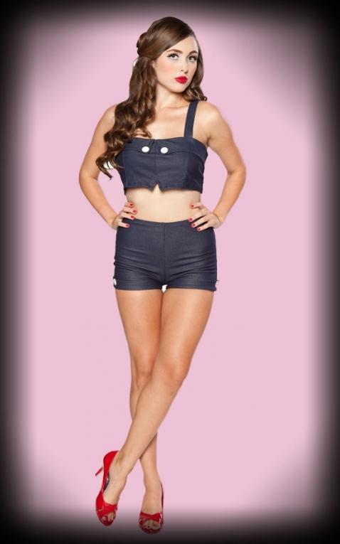Esther Williams Bikini Dale navy blue