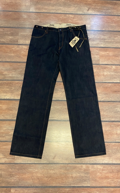 Letzte Chance - Rumble59 Jeans - RAW Selvage 21oz Denim - Blue Steel III