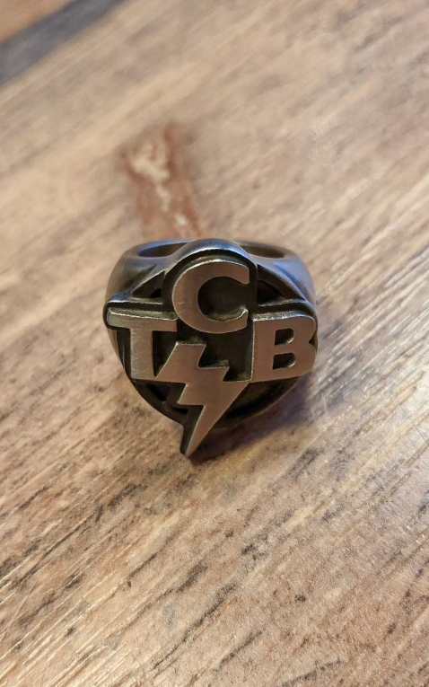 Last Chance -  Rumble59 - Stainless Steel Ring - TCB