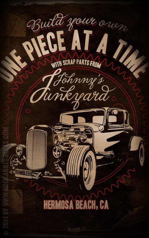Rumble59 Poster - Johnnys Junkyard