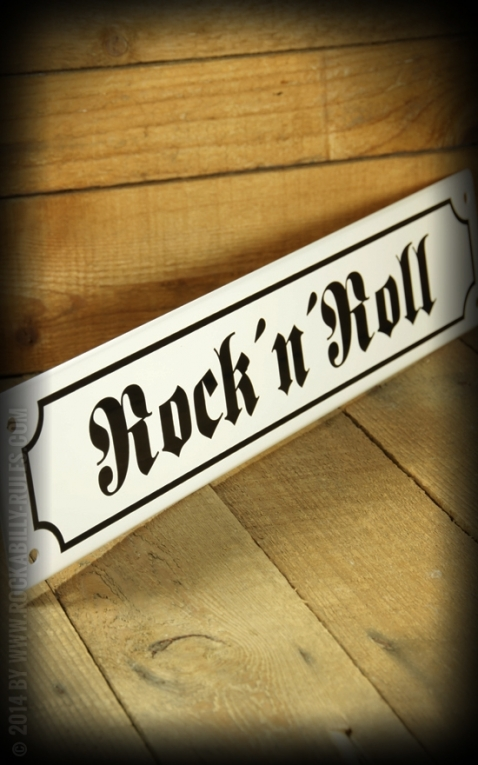 Street sign with Email coated - RocknRoll
