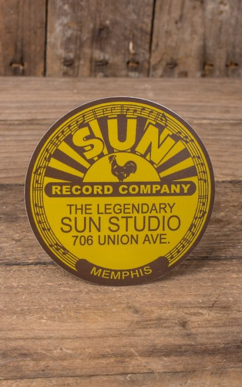 Aufkleber - Sun Records Studio
