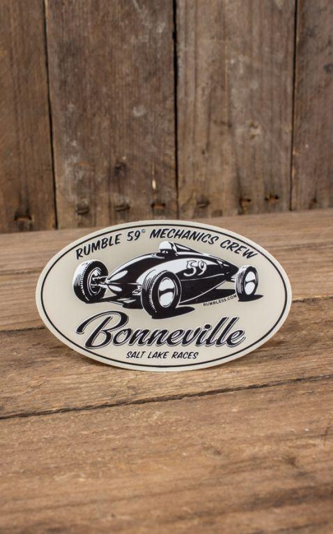 Rumble59 - Aufkleber Bonneville