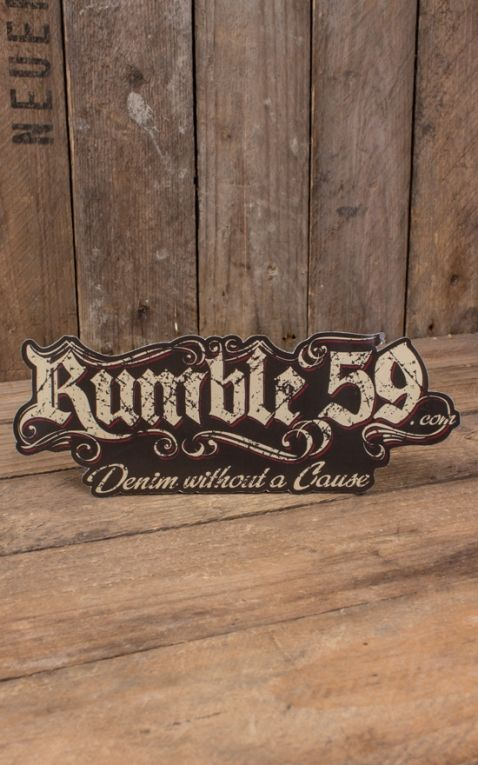 Rumble59 - Aufkleber without a cause