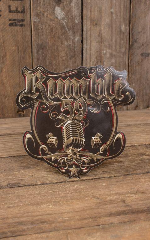 Rumble59 - Autocollant Micro