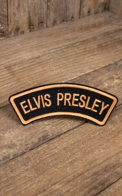 Aufnäher Elvis Presley