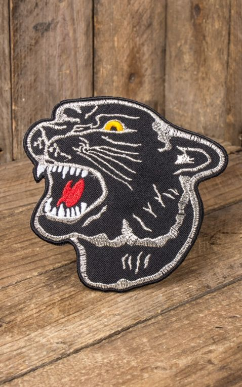 Patch - Oldschool Black Panther