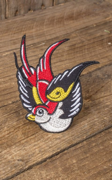 Patch - Oldschool Tattoo Swallow