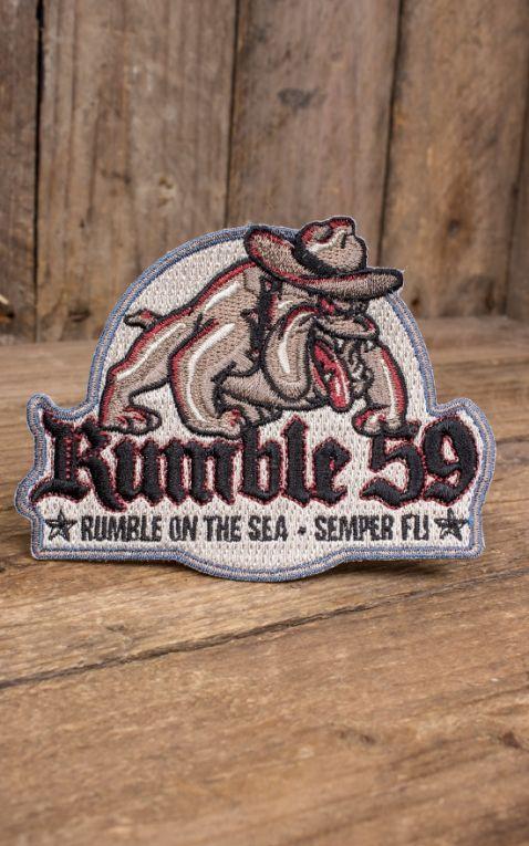 Rumble59 - Aufnäher On the sea - Semper fi