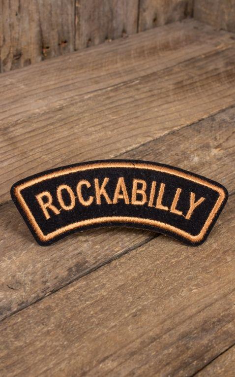 Aufnäher Rockabilly
