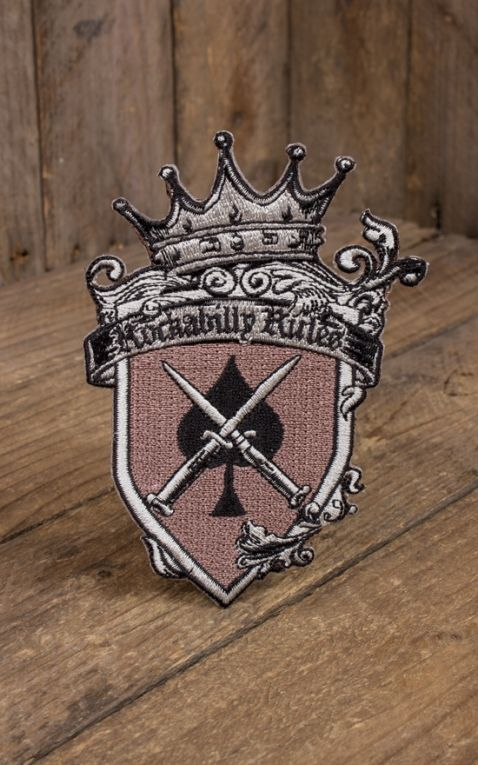Patch - Rockabilly Rules Knifes