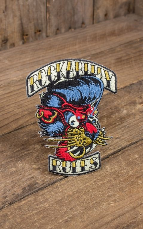 Patch - Le tigre des Rockabilly Rules